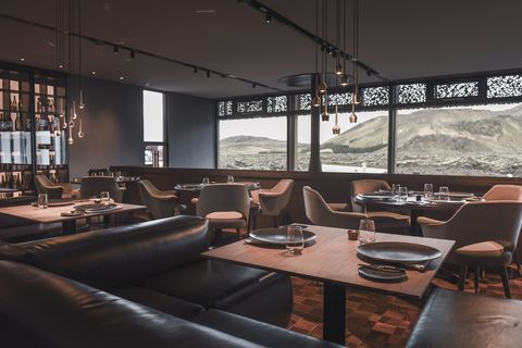 Moss Restaurant at Blue Lagoon Iceland