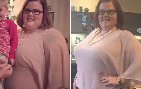 Katie weight loss before and after