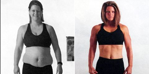 Renee weight loss before and after