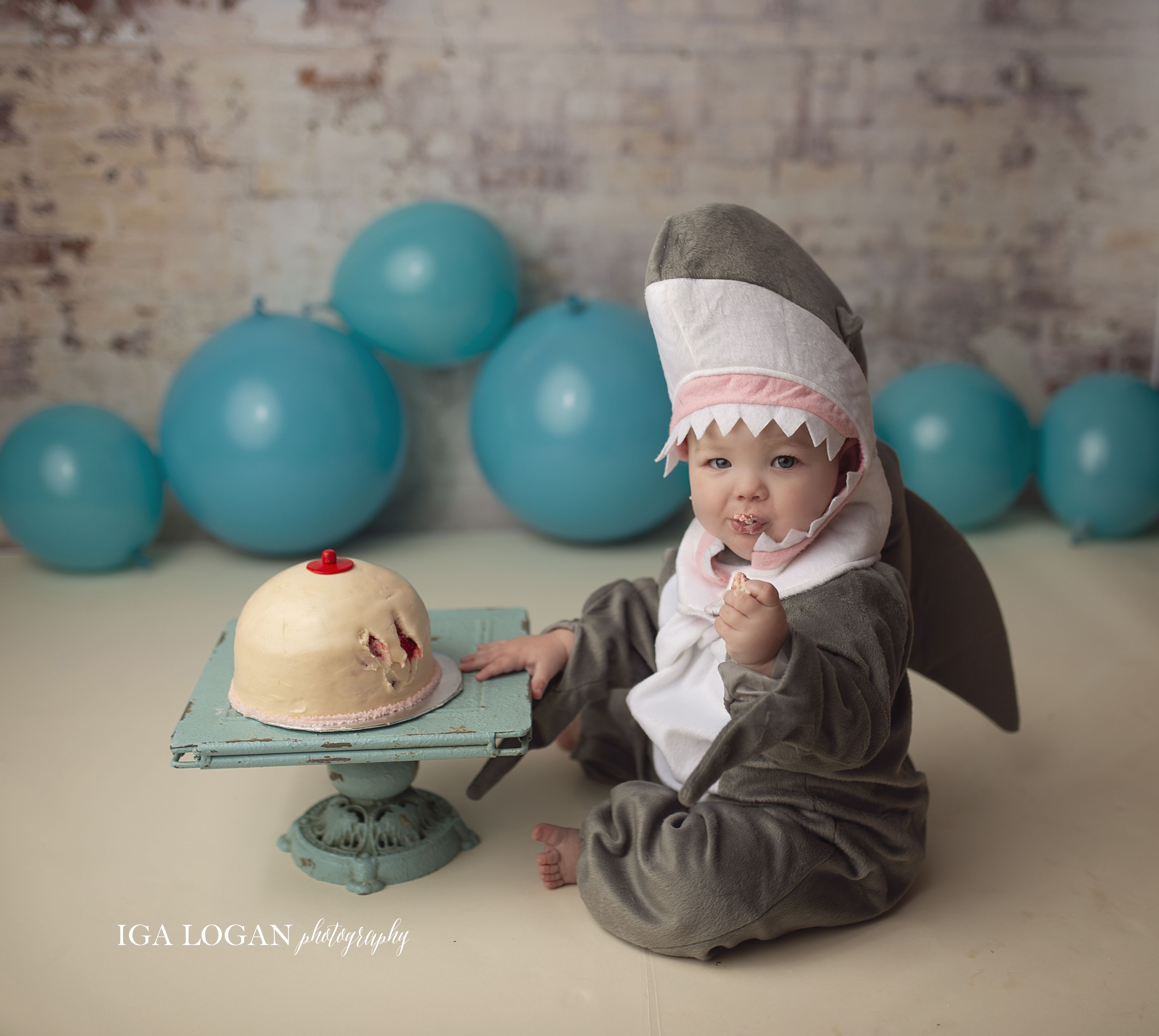 A Mom Dressed Her Baby As A Shark And Gave Her A Boob Cake To