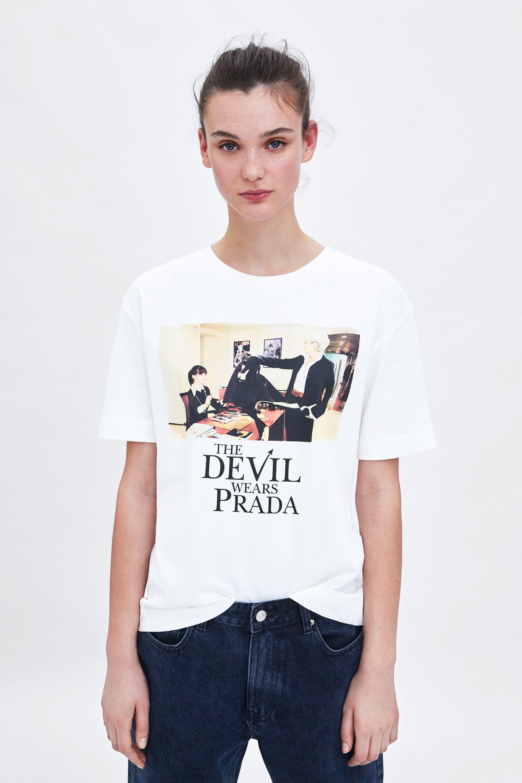Zara y sus camisas TRF El diablo viste de Zara : El diablo