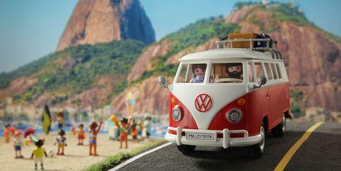 volkswagen t1 camping bus playmobil