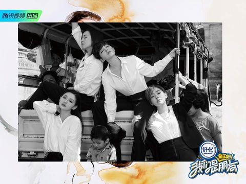 《我們是真正的朋友》大S 徐熙媛、小S 徐熙娣、柳翰雅、范曉萱都在穿的 友情白襯衫