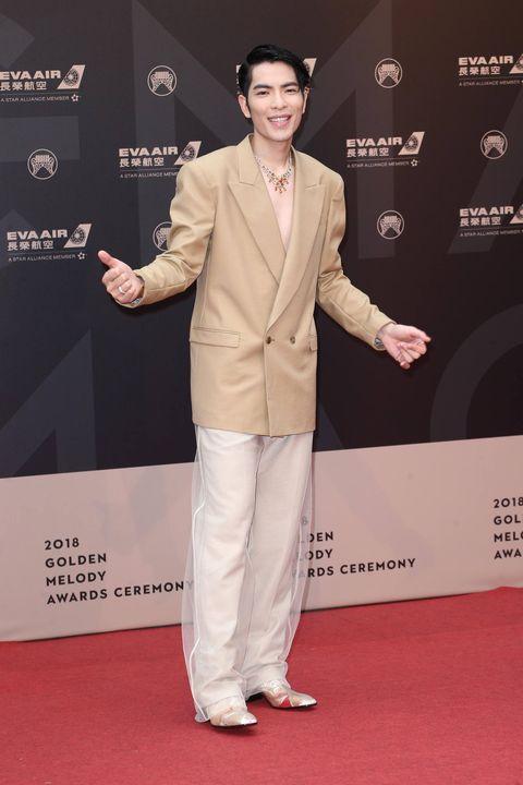 2018金曲, 女星紅毯, 星光大道, 紅毯造型, 金曲29, 金曲獎,金曲紅毯,穿搭,蕭敬騰,