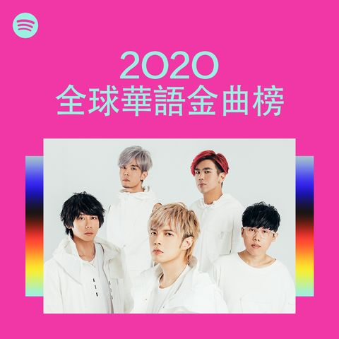 spotify 2020 華語音樂排名
