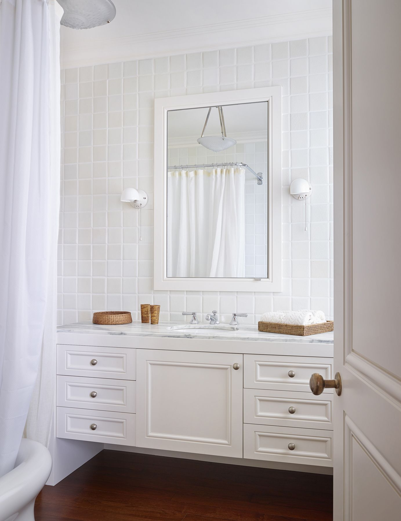 Chic Bathrooms With Floating Vanities Floating Vanity Ideas