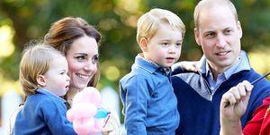 Kate Middleton, Princess Charlotte, Prince George, Prince William