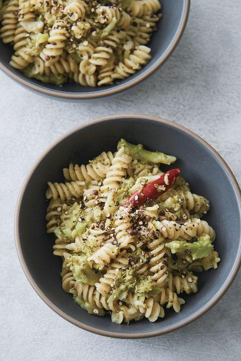 Cuisine, Fusilli, Rotini, Food, Pasta salad, Dish, Radiatori, Ingredient, Pasta, Vegetarian food,