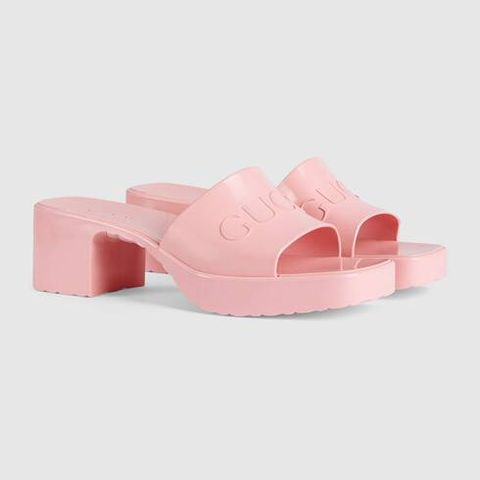 Sandal, Pink, Peach, Tan, Beige, Foot, Strap, Slingback, Slipper, Leather,