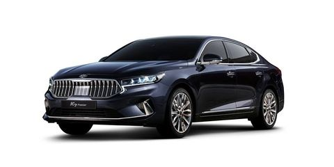 Facelifted Kia Cadenza Previewed by Korea-Market K7 Sedan