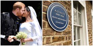 63 Kings Road - Windsor - AY Nutt - blue plaque - Hamptons International