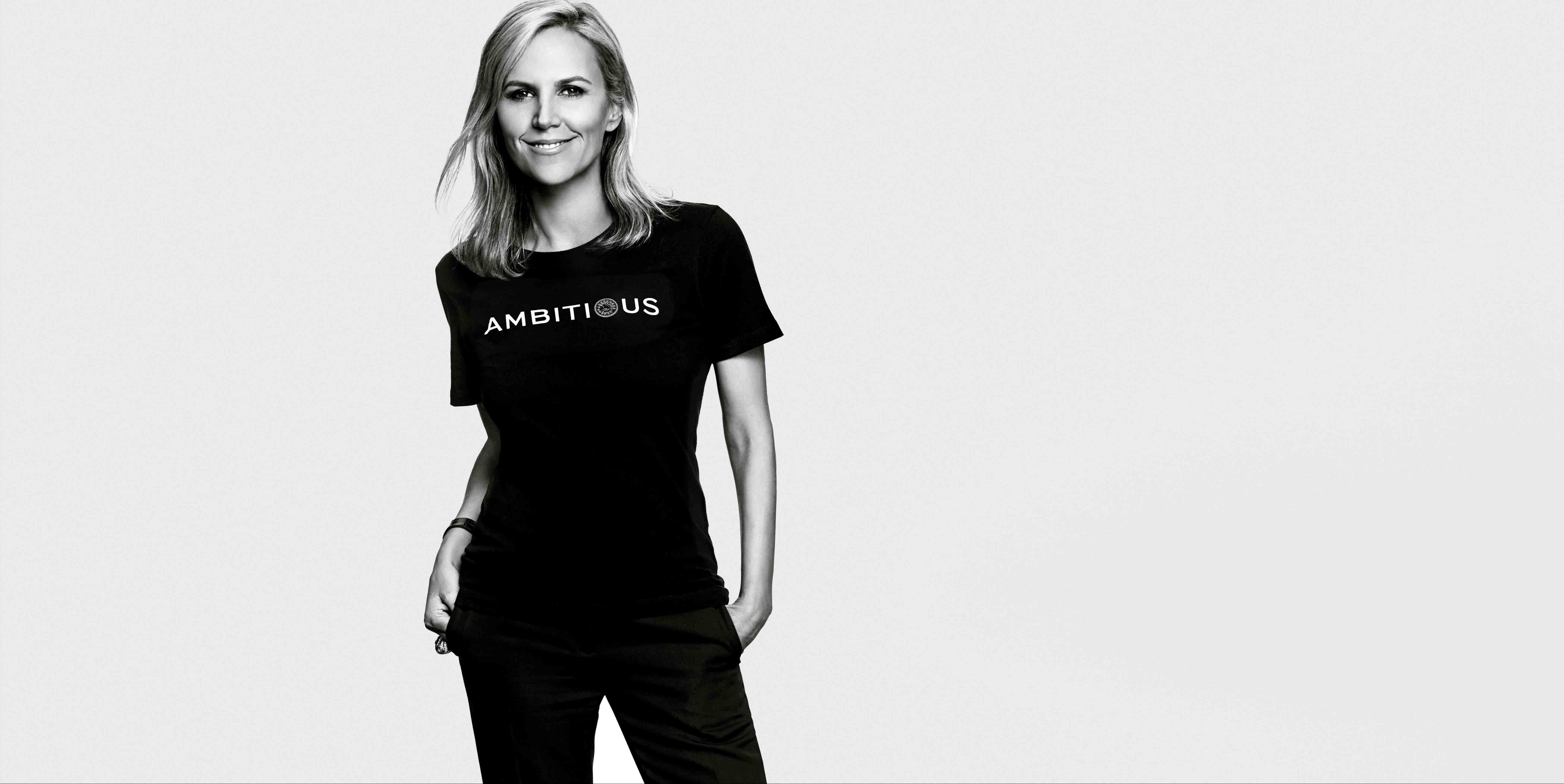 The fashion designer is hosting the Tory Burch Foundation's #EmbraceAmbition series in NYC.