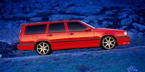 When Volvo Built A Turbo Five Cylinder Performance Station Wagon