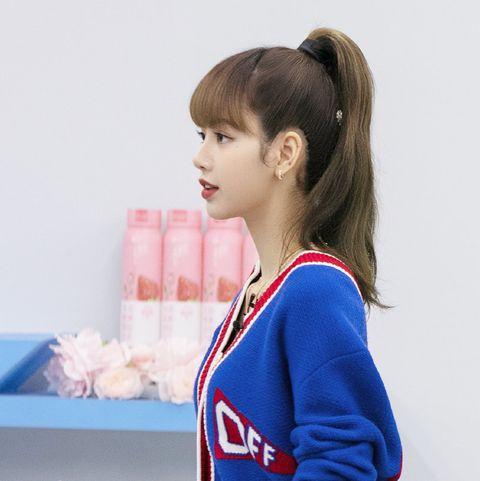 lisa馬尾教學 韓系馬尾 高馬尾技巧 女星同款馬尾