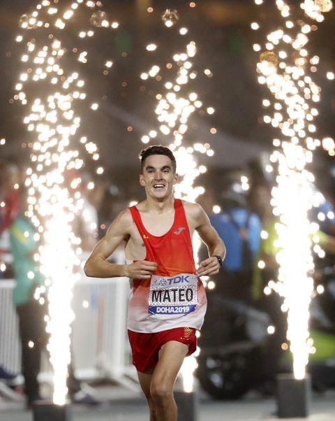 Dani Mateo, maratón, Doha 2019