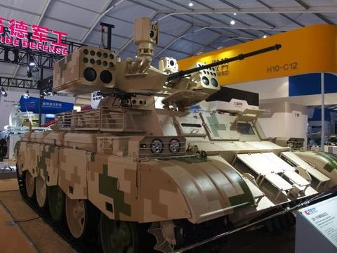 China's 'Terminator' Tank Support Vehicle Is Bristling With Weaponry