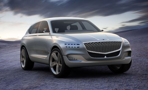 Genesis Gv80 Concept Car And Drivermanufacturer