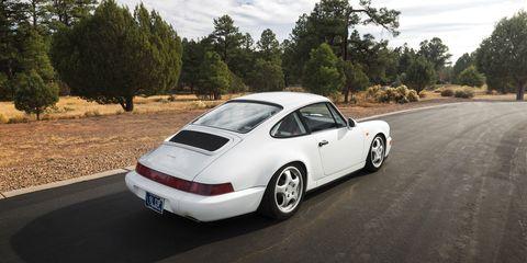 Land vehicle, Vehicle, Car, Coupé, Porsche 911 classic, Rim, Automotive design, Bumper, Automotive exterior, Sports car,