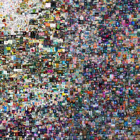 佳士得首次拍賣「數位收藏品」即創驚人紀錄!「摸不到的畫+一枚nft」以6900萬美元落槌成交