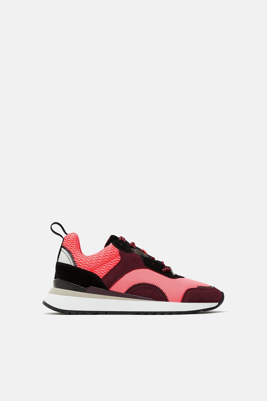 10 zapatillas de Zara que no te quitarás en toda la temporada