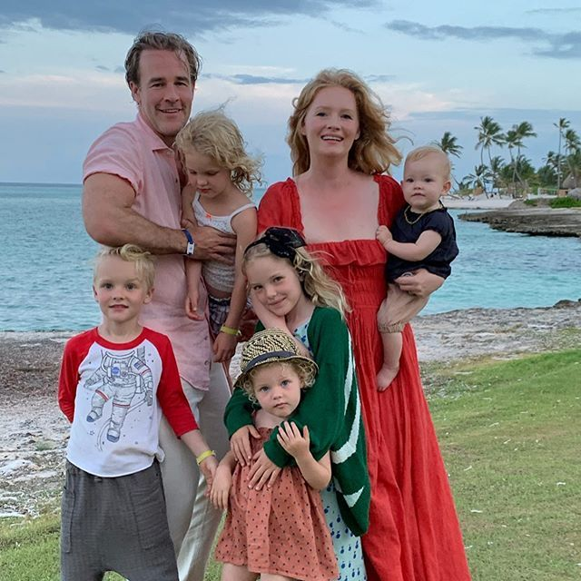 The Most Adorable Photos of James Van Der Beek's Five Kids with His Wife Kimberly