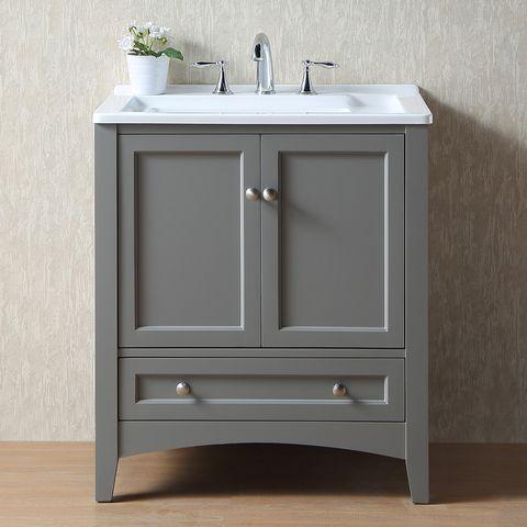 Sink, Bathroom cabinet, Plumbing fixture, Drawer, Furniture, Bathroom accessory, Room, Bathroom, Material property, Floor,