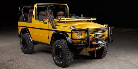 This Perfect 1992 G-Wagen Is a Solarbeam Yellow Dream