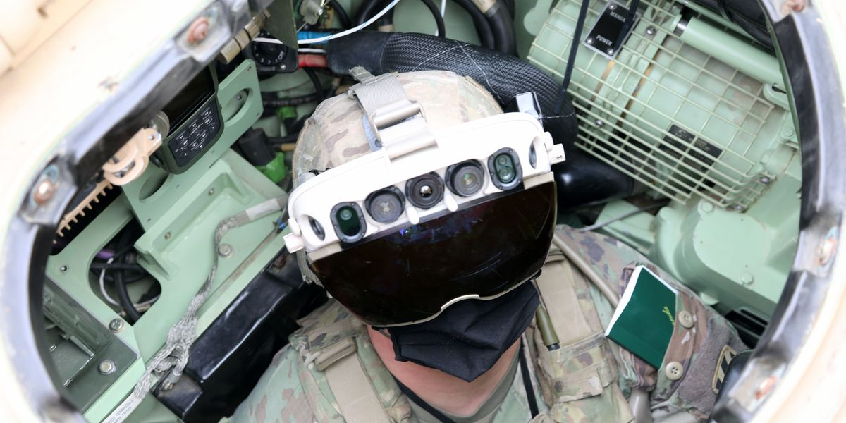 New Army Goggles Let Soldiers See Through Vehicles: IAVS Tech