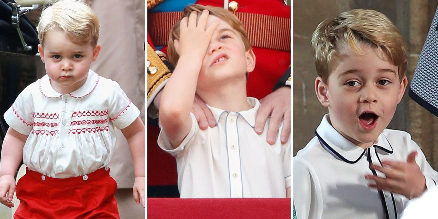 All of the Times Prince George Was a Total #Mood