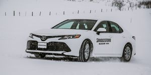 2019 Toyota Camry on Bridgestone Tire Launch