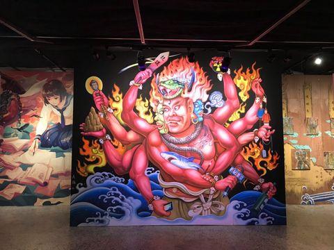 《妖氣都市-鬼怪文學與當代藝術特展》