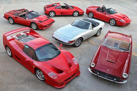 Land vehicle, Vehicle, Car, Sports car, Supercar, Model car, Ferrari f50, Race car, Coupé, Classic car,
