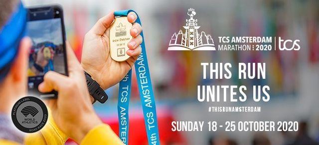 virtual tcs amsterdam marathon in 2020