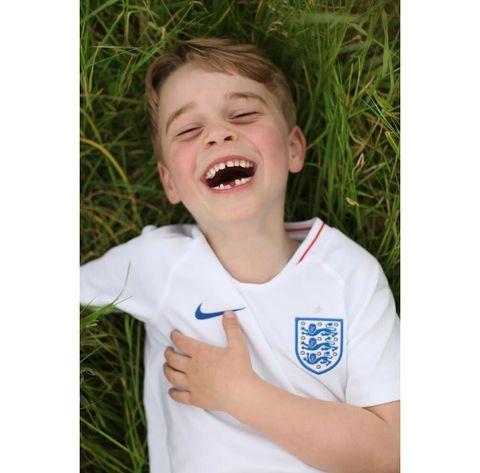 喬治小王子6歲生日