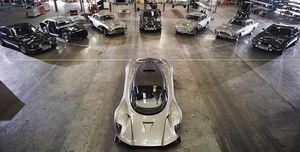 Aston Martin nos enseña todos los coches de 007 en 'Bond 25'
