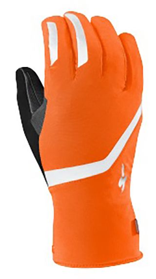 Glove, Safety glove, Bicycle glove, Orange, Personal protective equipment, Sports gear, Bicycles--Equipment and supplies, Bicycle clothing, Batting glove, Football glove,