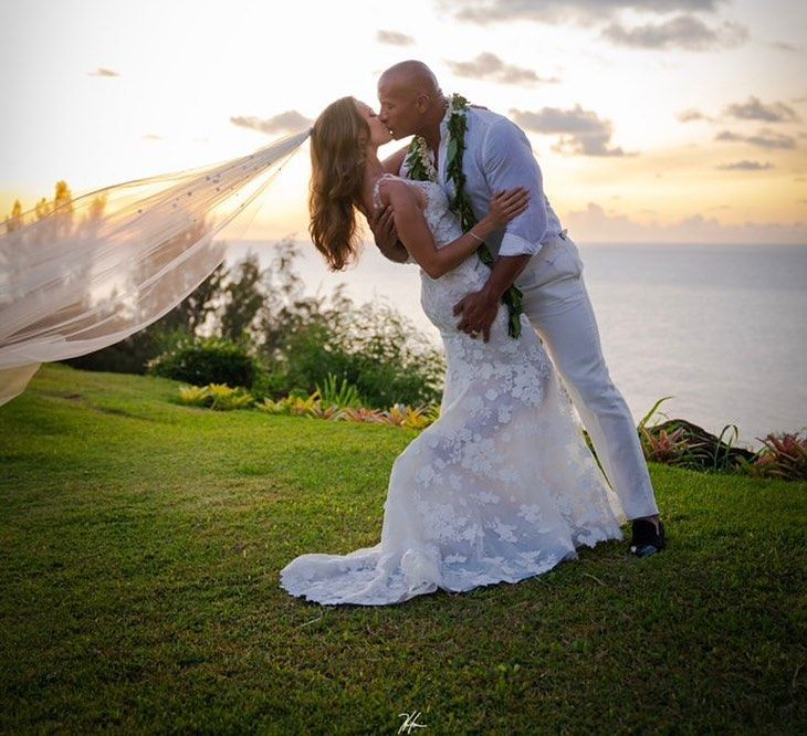 Dwayne 'The Rock' Johnson Marries Longtime Girlfriend Lauren Hashian in Surprise Wedding