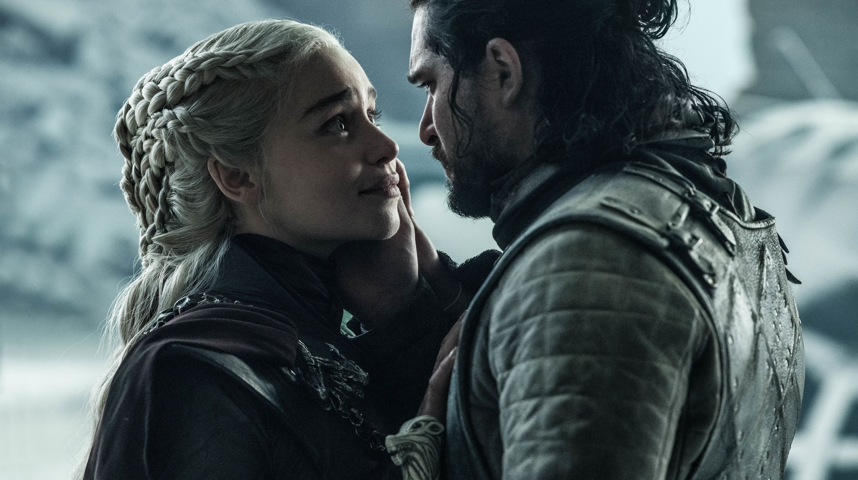 Why Kit Harington and Emilia Clarke's Most Pivotal Kissing Scene Was So Awkward
