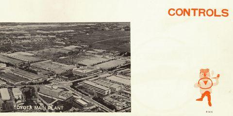 1968 toyota corona owner's manual illustrations