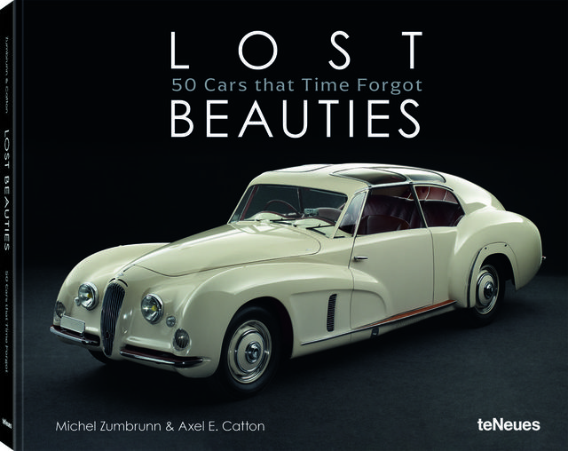 cover of lost beauties 50 cars that time forgot