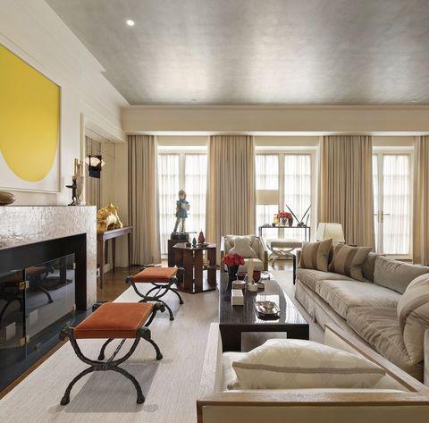Living room, Room, Interior design, Furniture, Property, Building, Ceiling, House, Home, Real estate,