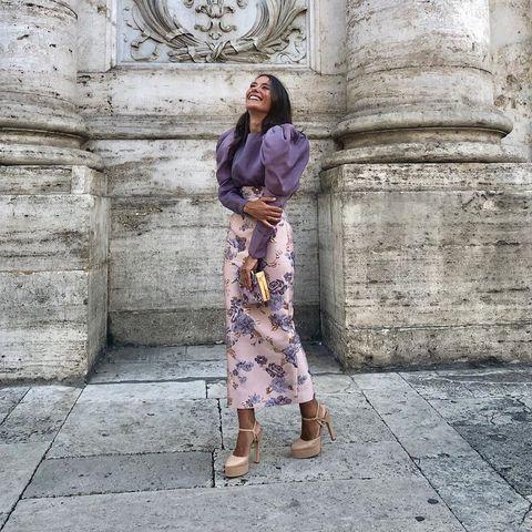 mejor proveedor comprar baratas compra original Los looks de invitada de boda de otoño en Instagram-Look ...