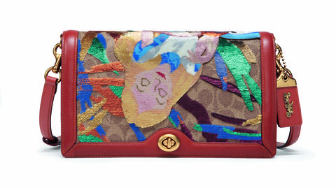 Bag, Handbag, Messenger bag, Fashion accessory, Turquoise, Shoulder bag, Luggage and bags, Beige, Rectangle, Leather,