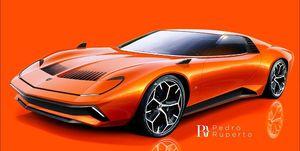 Lamborghini Miura by Ruperto Design