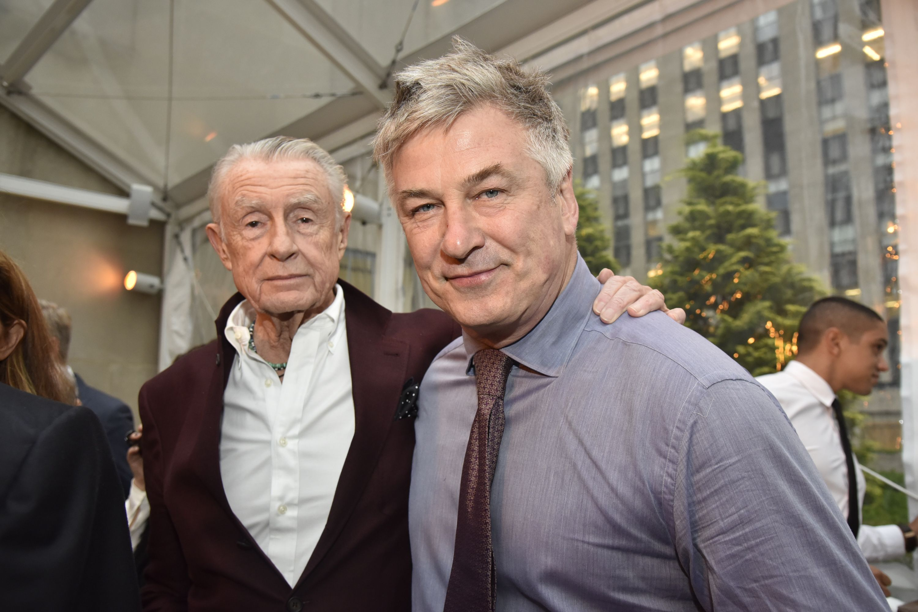 Alec Baldwin and Director Joel Schumacher