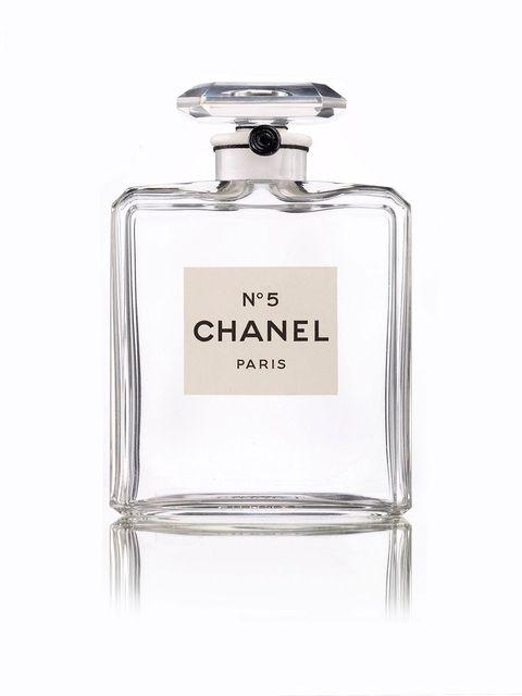 透明白色的chanel n°5 高級珠寶系列