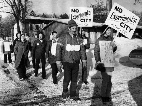 minnesota experimental city protest