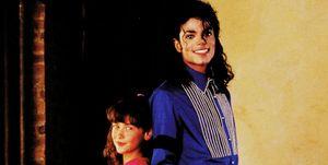 Michael Jackson y Jennifer Lowe Hewitt