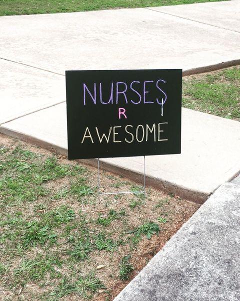 nurse sign