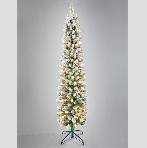 11 Slim Christmas Trees Perfect For Small Spaces Best Pencil